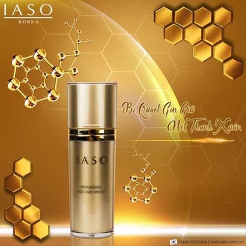 Tinh chất dưỡng da chống lão hóa IASO Progressive Age Care Serum bí quyết giữ nét thanh xuân
