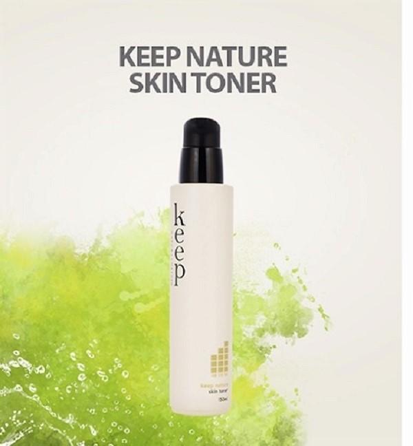 Nước hoa hồng Helios Keep Natural Skin Toner